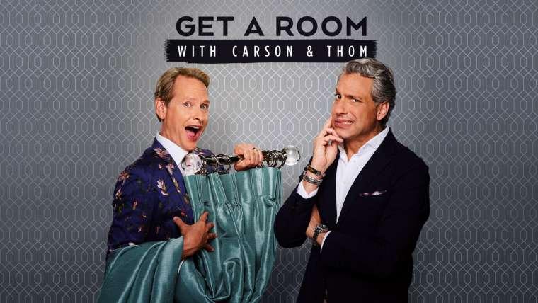 """NUEVOS EPISODIOS DE """"GET A ROOM WITH CARSON & THOM"""", SÓLO EN E!"""