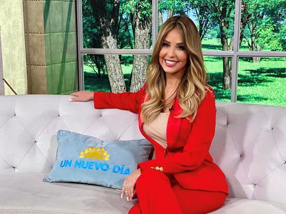 """MYRKA DELLANOS HACE SU REGRESO A LA TELEVISIÓN EN UN """"UN NUEVO DÍA"""""""