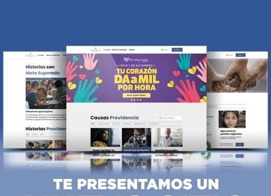 FUNDACIÓN PROVIDENCIA RENUEVA SU SITIO WEB Y REFRENDA SU COMPROMISO POR IMPULSAR EL ALTRUISMO EN MÉXICO  CON UN MODELO DE CROWDFUNDING INNOVADOR Y TRANSPARENTE